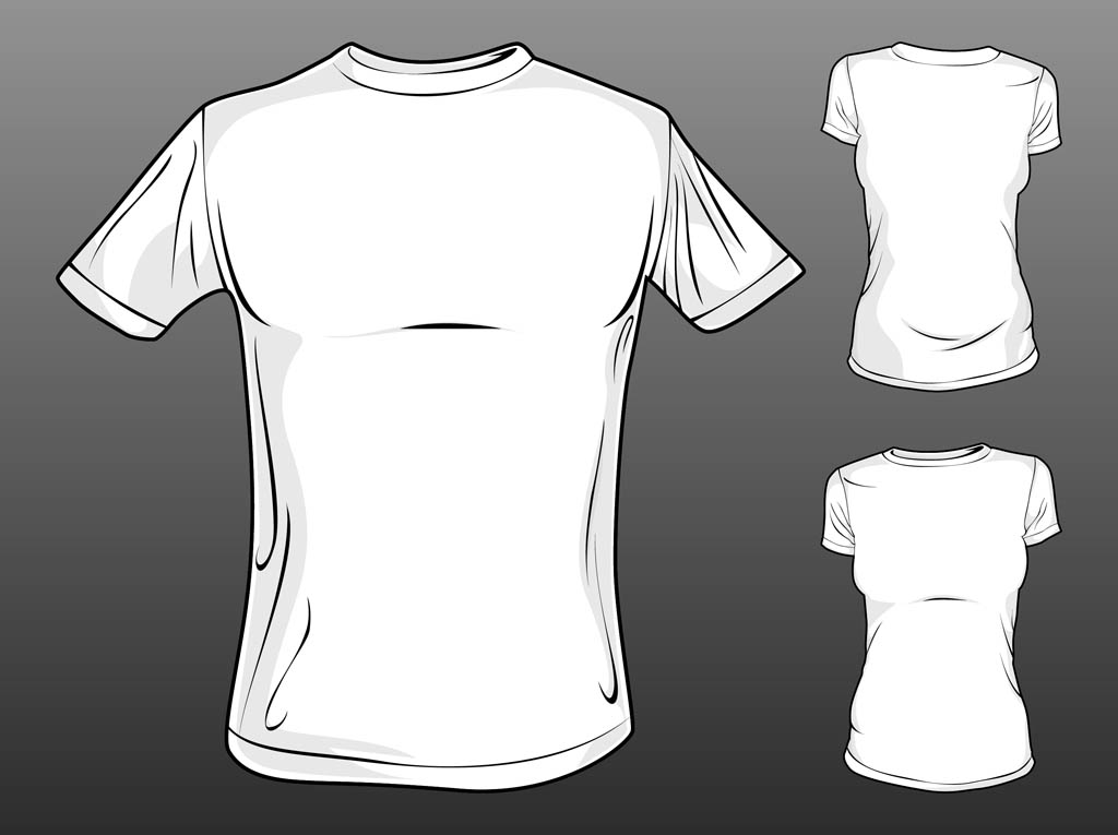 Free Vector Shirt Template
