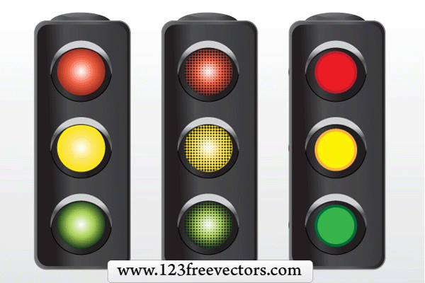 Free Vector Traffic Signal