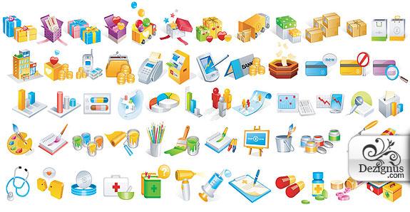 9 web 2 0 gears icon vector images gear icon vector free gear free website vector icon sciox Gallery