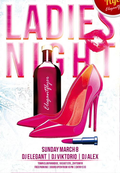 Girls Night Out Flyer Templates Free