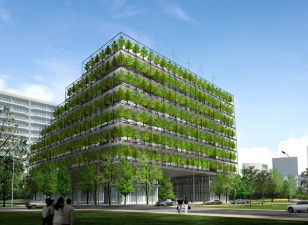 Green Architecture Buildings Designs