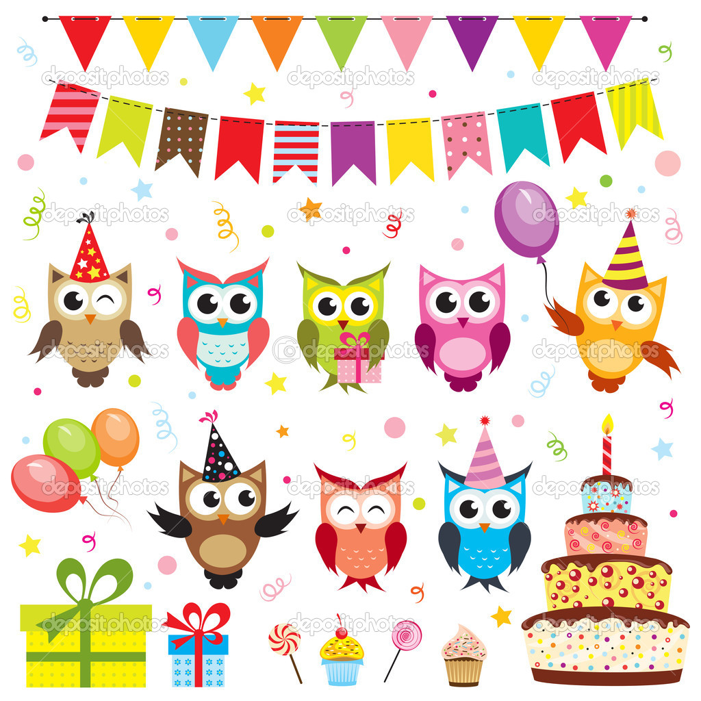 13 Vector Birthday Party Images