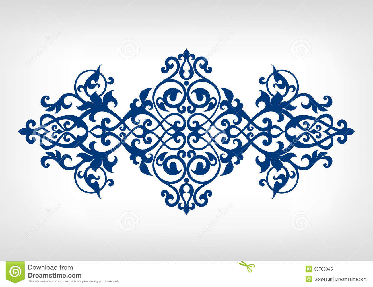16 Gold Islamic Patterns Vector Images