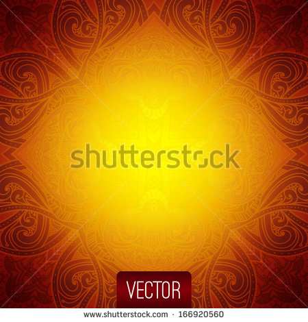 Islamic Patterns Vector Gold
