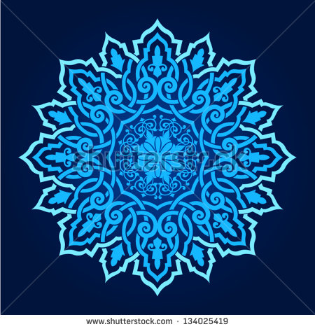 Islamic Persian Patterns Vector