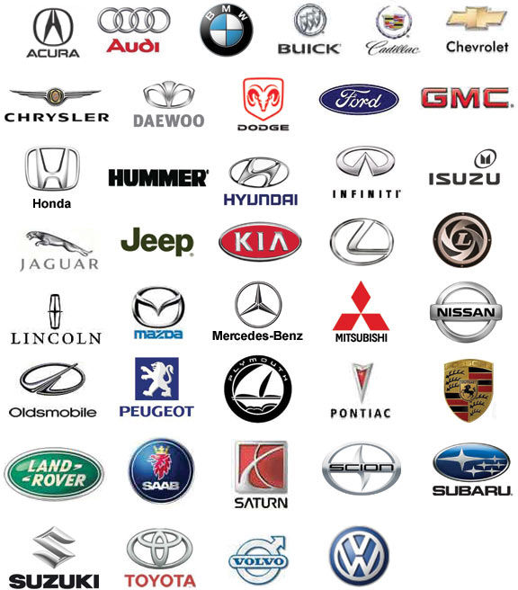 12 Car Manufacturer Icons Images - Car Manufacturer Logos ...