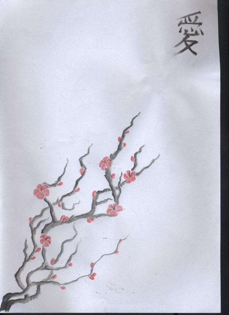 Japanese Cherry Blossom Tattoo Drawings
