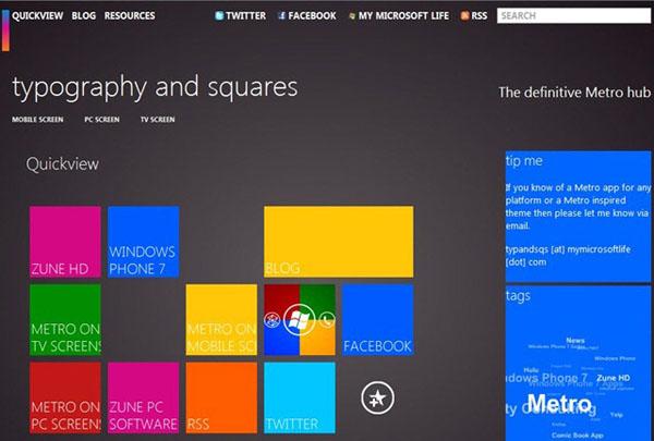 Microsoft Modern UI Design