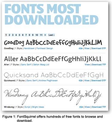 Microsoft Word Cursive Font Names