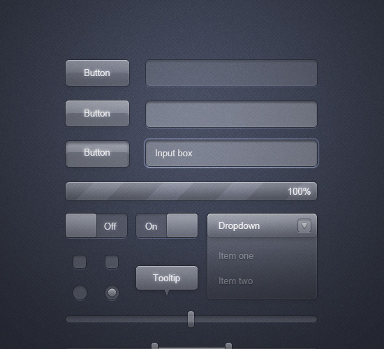 Modern UI Interface Design
