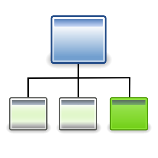 11 Processes Org Chart Icon.png Images