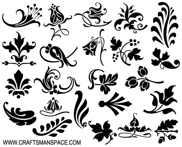 Ornamental Vector Design Elements