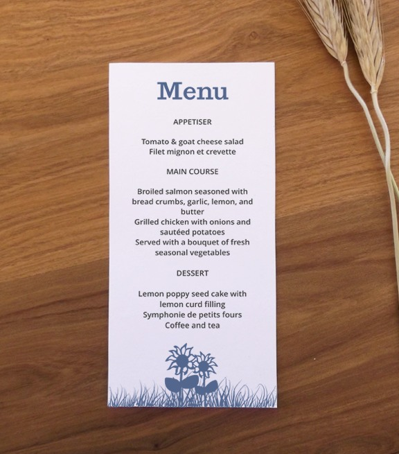 11 Farm Menu Design Images