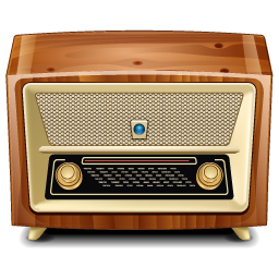 5 Retro Radio Icon Images