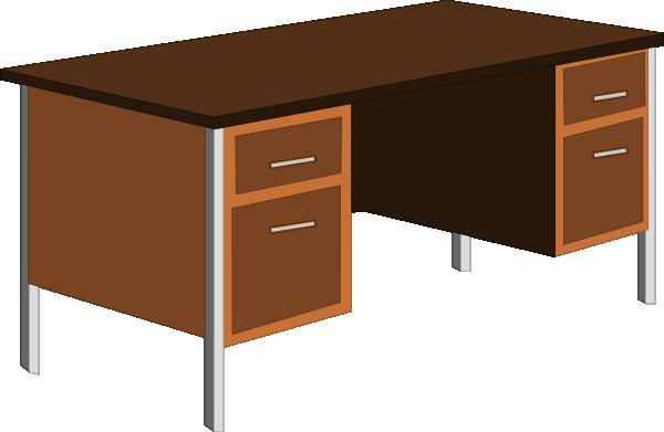16 Desk Clip Art Icon Images
