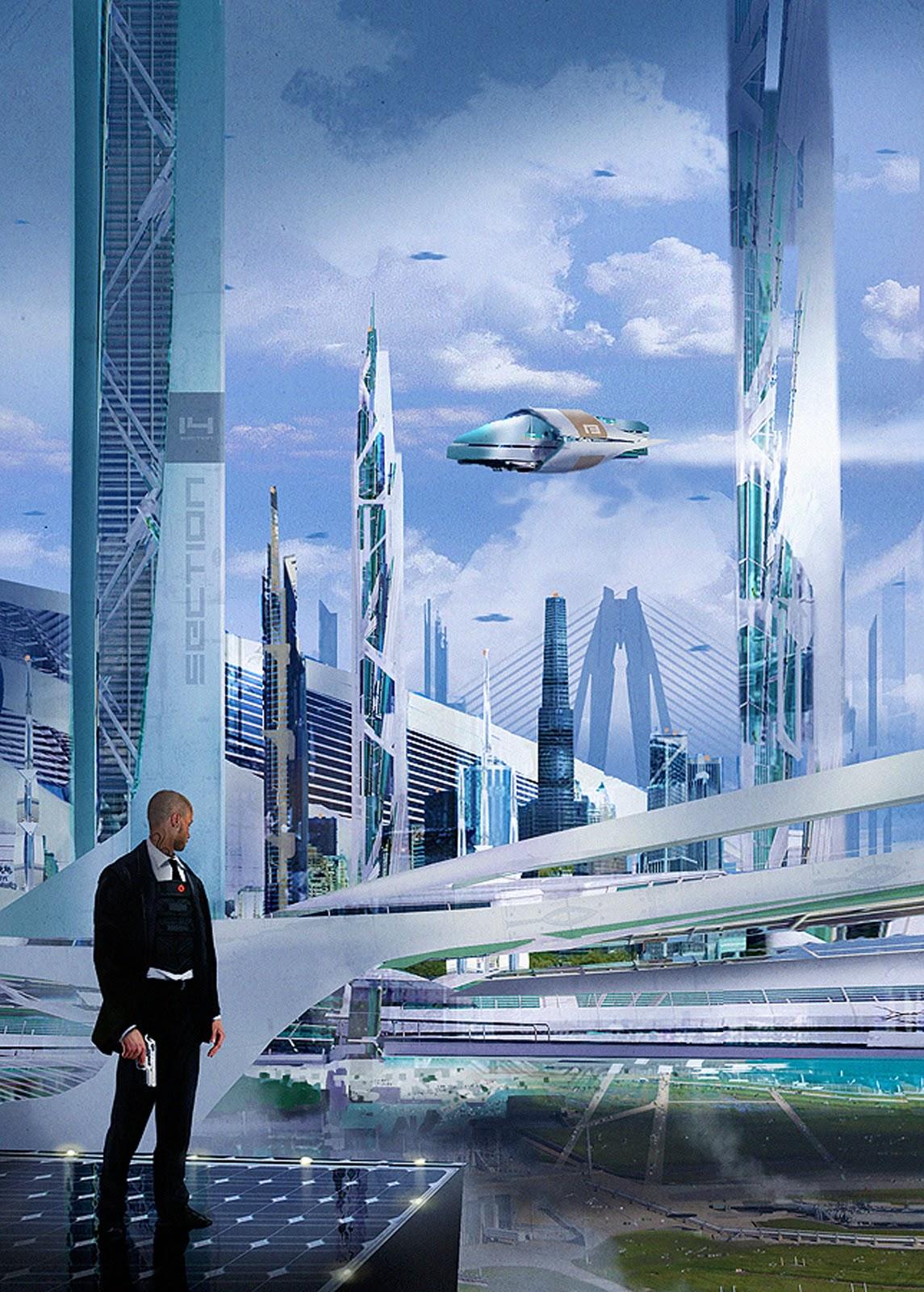 Sci-Fi Futuristic Building Concepts