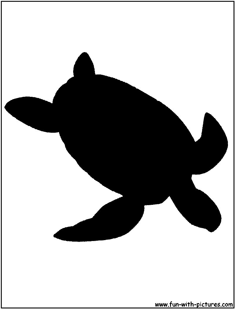 10 Sea Turtle Silhouette Vector Images