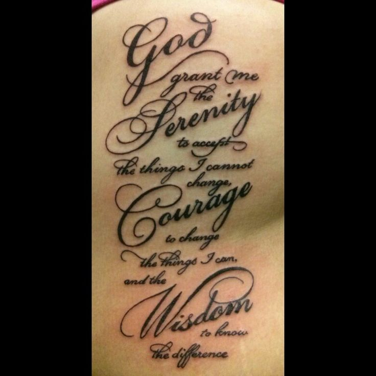 11 Serenity Prayer Copperplate Gothic Bold Font Images