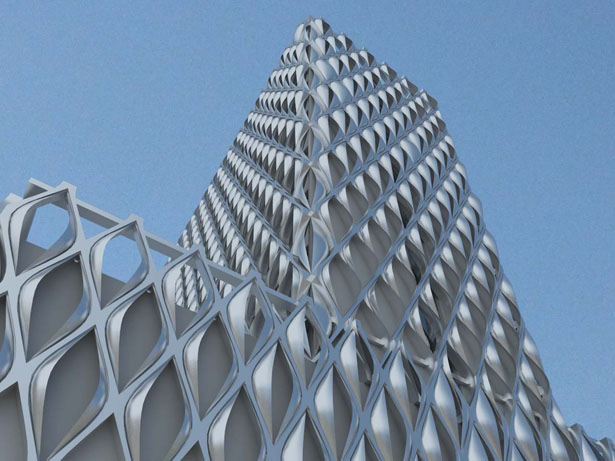 Shading Design Building