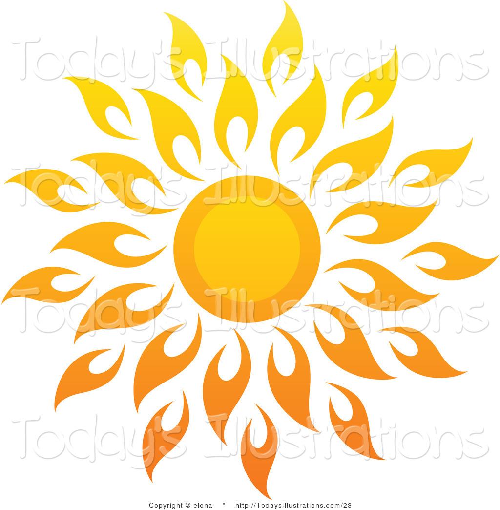 14 Sun Art Vector Images