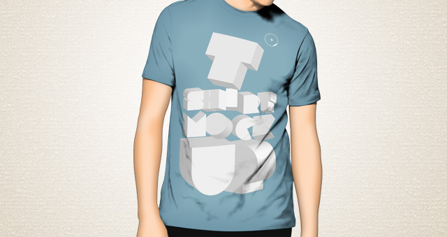 T-Shirt Mock Up Psd