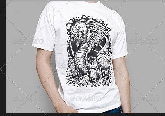 T-Shirt Mock UPS Free