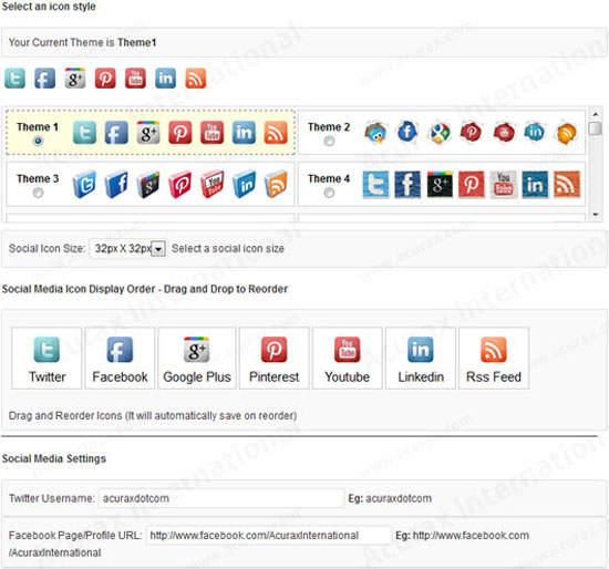 12 Social Meida Icons Images