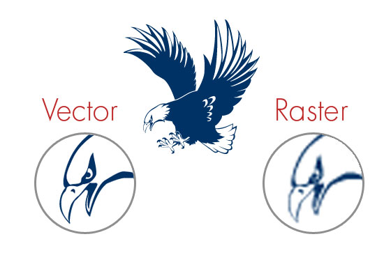 Vector Vs. Raster Graphics
