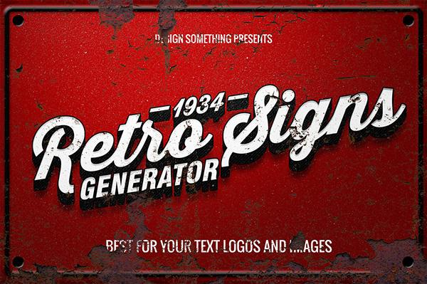 13 Retro Font Generator Images - Vintage Lettering Fonts, Vintage