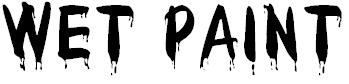 Wet Paint Font Free