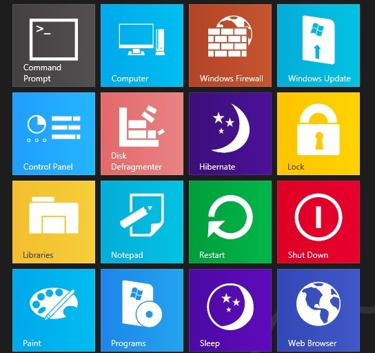11 Windows 8 Tile Icons Images