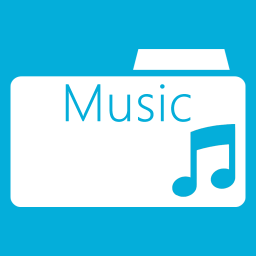 Windows 8 Music Folder Icon