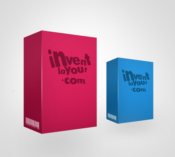 9 Box 3 4 View PSD Template Images