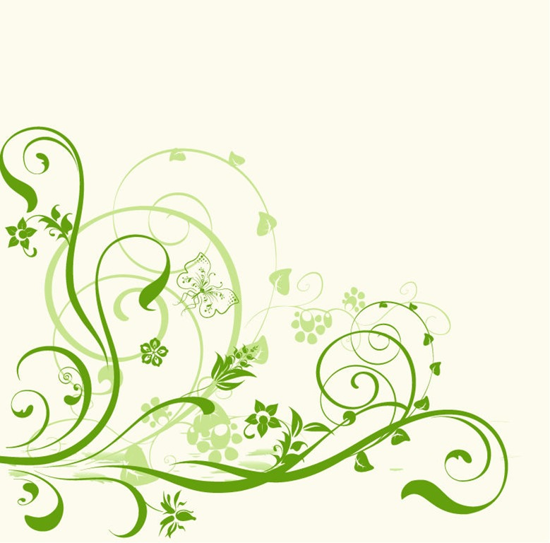 Abstract Floral Vector Design