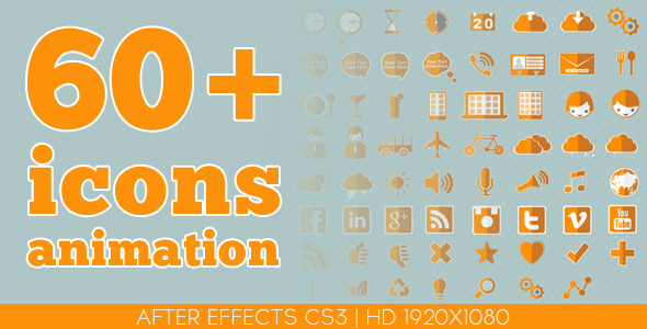 After Effects Animated Icons