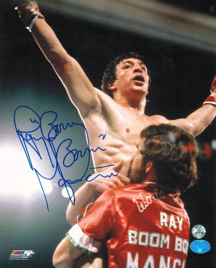 Autographed Ray Boom Boom Mancini
