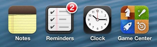 Badge App Icon iPhone 6