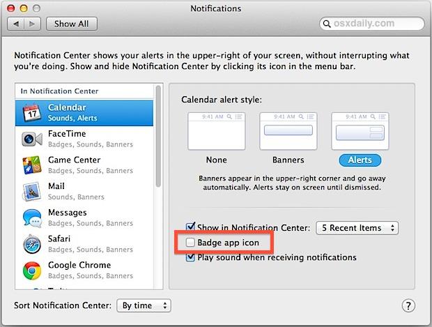 Badge App Icon Notification