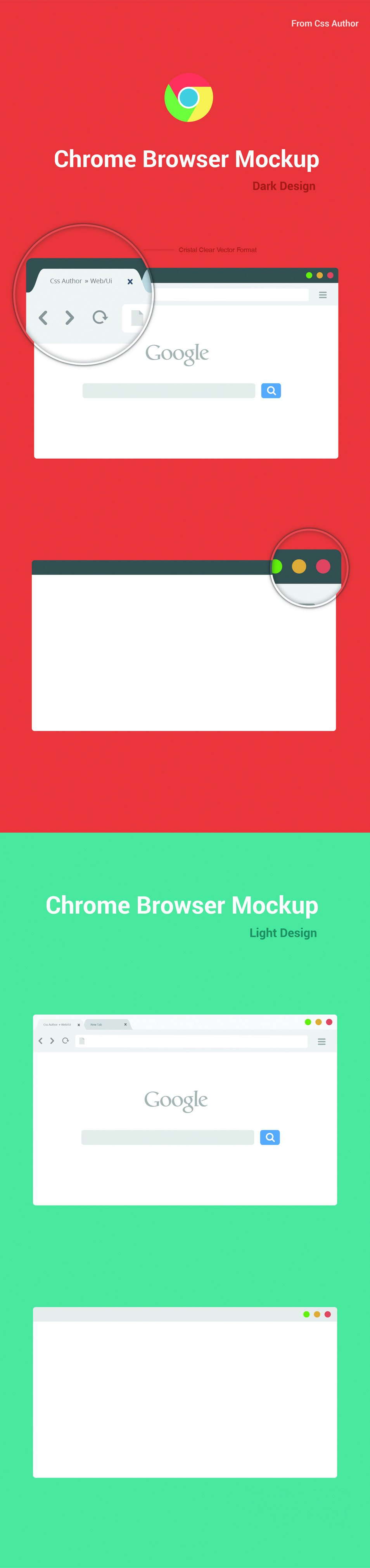 Browser Mockup Vector