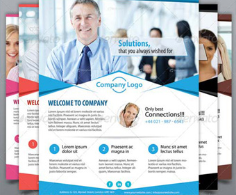 16 Free Business Flyer PSD Template Images