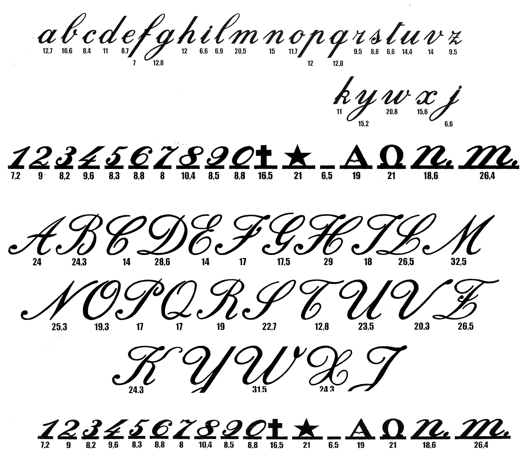 Best calligraphy fonts images free tattoo