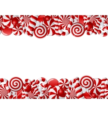 13 christmas candy border vector images christmas candy Peppermint Candy Clip Art Black and White Candy Cane Clip Art
