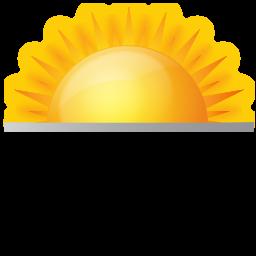 12 Sunrise And Sunset Icons Images