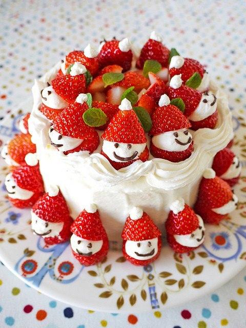 Christmas Fruit Cake Idea