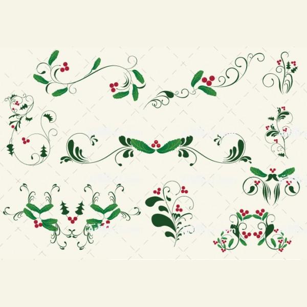 Christmas Ornament Vector Art