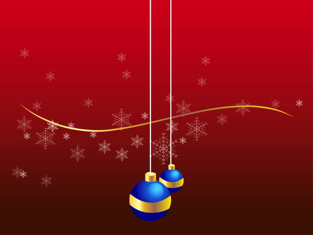 Christmas Ornament Vector Free