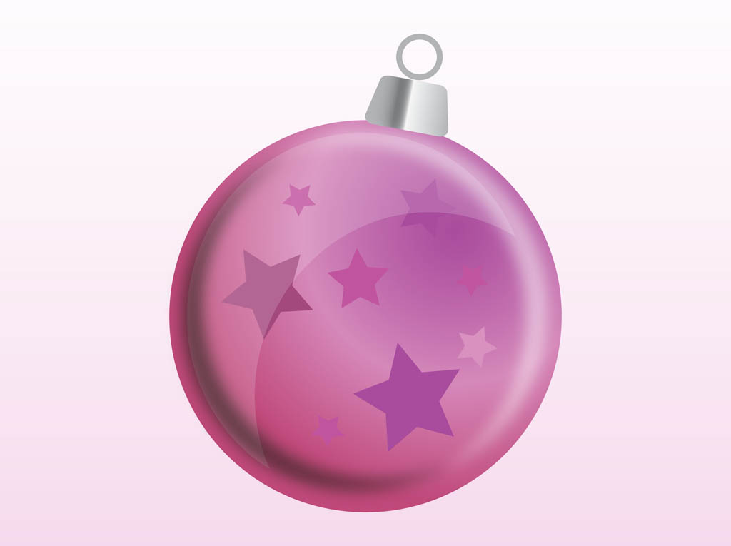 18 Holiday Ornaments Vector Images