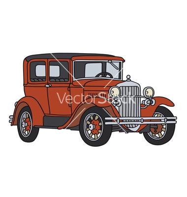 Classic Car Vector Art