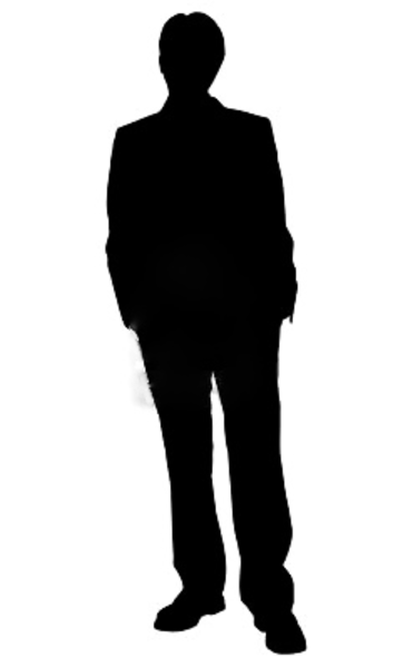 14 Human Vector Standing Images