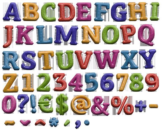 colorfonts on FeedYeti.com